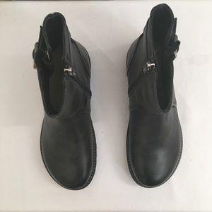 fb70e79c1d04 Birkenstock Shoes - Birkenstock Stowe Leather Black Boots